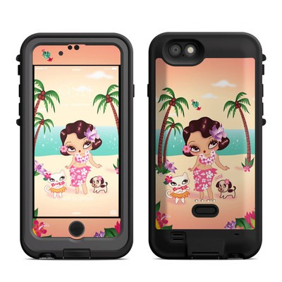Lifeproof iPhone 6 Fre Power Case Skin - Hula Lulu