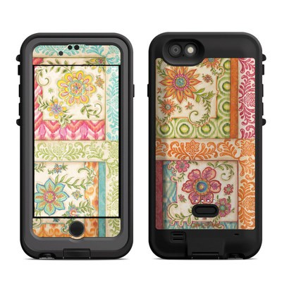 Lifeproof iPhone 6 Fre Power Case Skin - Ikat Floral