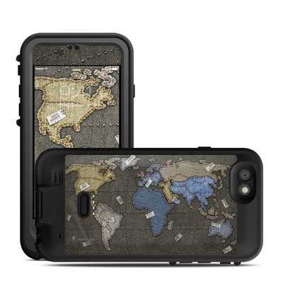 Lifeproof iPhone 6 Fre Power Case Skin - Jean Map
