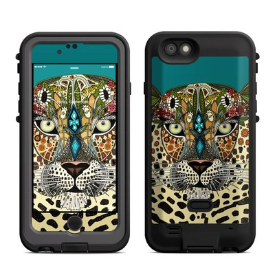 Lifeproof iPhone 6 Fre Power Case Skin - Leopard Queen