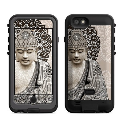 Lifeproof iPhone 6 Fre Power Case Skin - Meditation Mehndi
