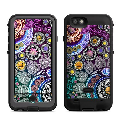 Lifeproof iPhone 6 Fre Power Case Skin - Mehndi Garden
