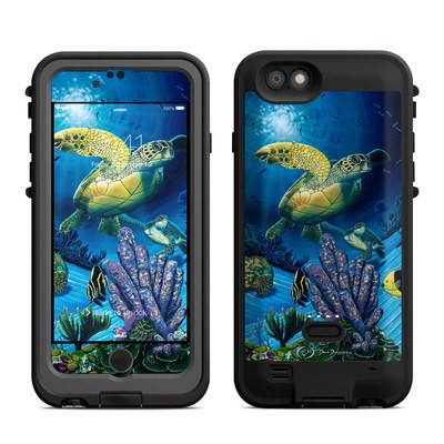 Lifeproof iPhone 6 Fre Power Case Skin - Ocean Fest
