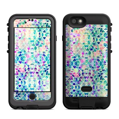 Lifeproof iPhone 6 Fre Power Case Skin - Pastel Triangle