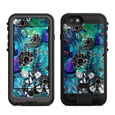 Lifeproof iPhone 6 Fre Power Case Skin - Peacock Garden