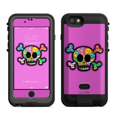 Lifeproof iPhone 6 Fre Power Case Skin - Peace Skull