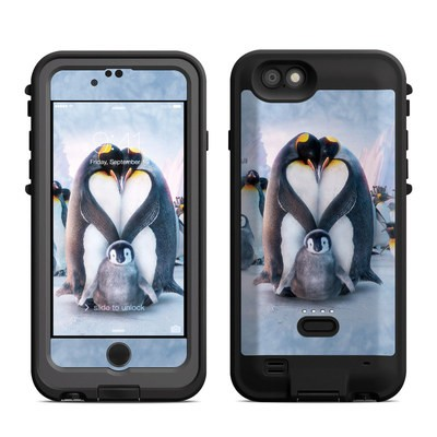 Lifeproof iPhone 6 Fre Power Case Skin - Penguin Heart