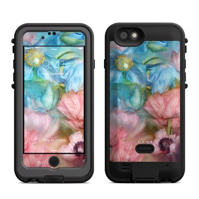 Lifeproof iPhone 6 Fre Power Case Skin - Poppy Garden