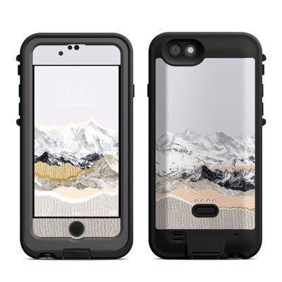 Lifeproof iPhone 6 Fre Power Case Skin - Pastel Mountains