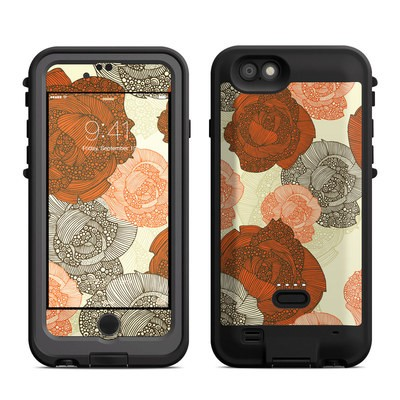 Lifeproof iPhone 6 Fre Power Case Skin - Roses