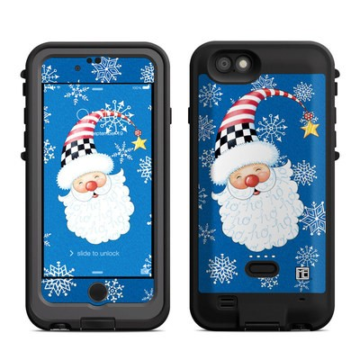Lifeproof iPhone 6 Fre Power Case Skin - Santa Snowflake