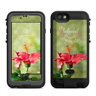 Lifeproof iPhone 6 Fre Power Case Skin - She Believed