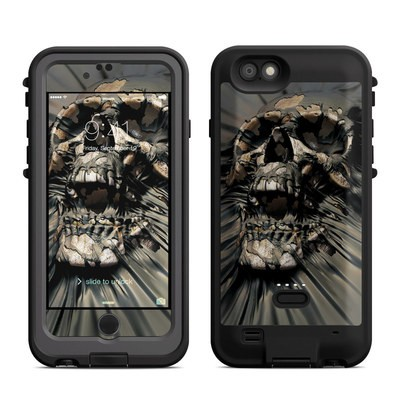 Lifeproof iPhone 6 Fre Power Case Skin - Skull Wrap
