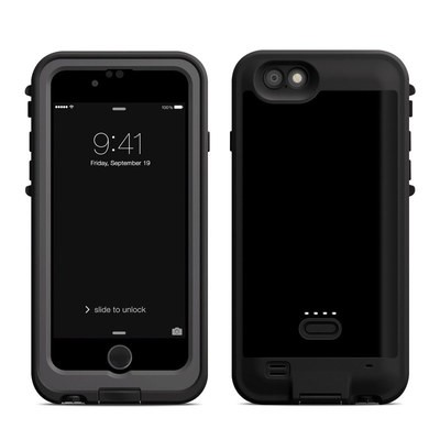 Lifeproof iPhone 6 Fre Power Case Skin - Solid State Black
