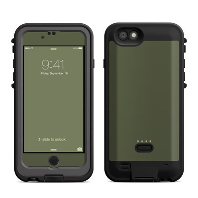 Lifeproof iPhone 6 Fre Power Case Skin - Solid State Olive Drab
