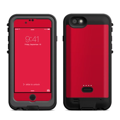 Lifeproof iPhone 6 Fre Power Case Skin - Solid State Red