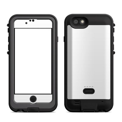 Lifeproof iPhone 6 Fre Power Case Skin - Solid State White
