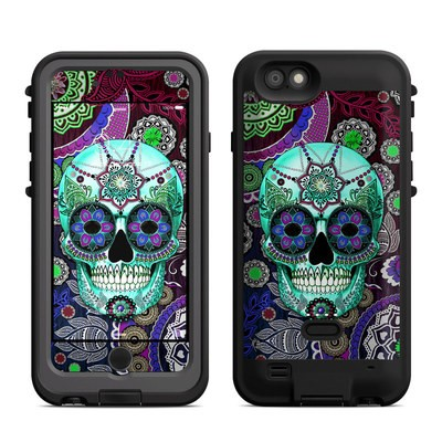 Lifeproof iPhone 6 Fre Power Case Skin - Sugar Skull Sombrero