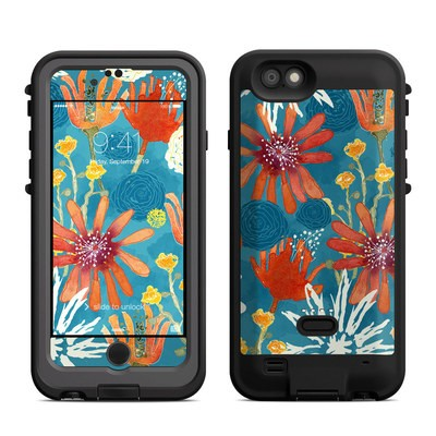 Lifeproof iPhone 6 Fre Power Case Skin - Sunbaked Blooms