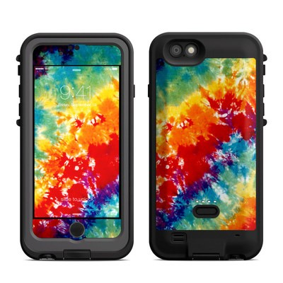 Lifeproof iPhone 6 Fre Power Case Skin - Tie Dyed