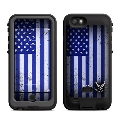 Lifeproof iPhone 6 Fre Power Case Skin - USAF Flag