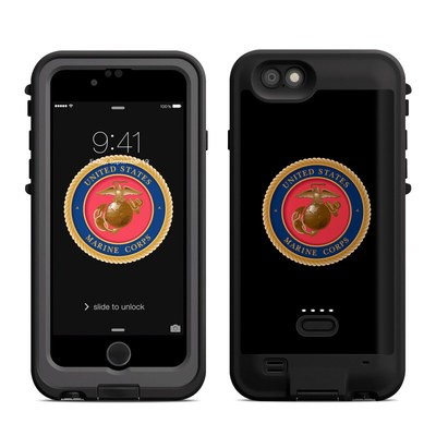 Lifeproof iPhone 6 Fre Power Case Skin - USMC Black