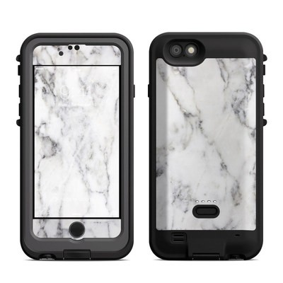 Lifeproof iPhone 6 Fre Power Case Skin - White Marble
