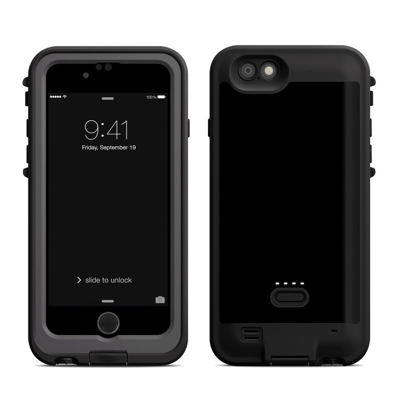 Lifeproof iPhone 6 Fre Power Case Skin - Solid State Black by Solid ... 5980286849fc