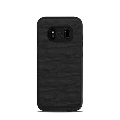 Lifeproof Galaxy S8 Fre Case Skin - Black Woodgrain