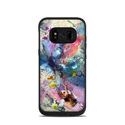 Lifeproof Galaxy S8 Fre Case Skin - Cosmic Flower