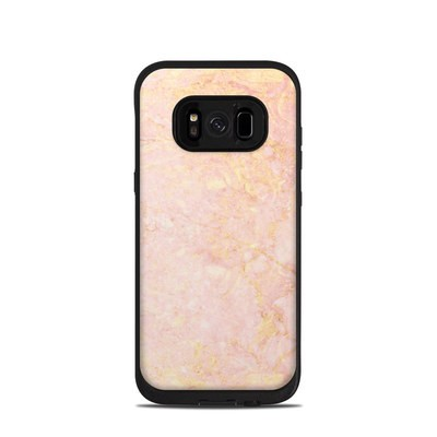 Lifeproof Galaxy S8 Fre Case Skin - Rose Gold Marble