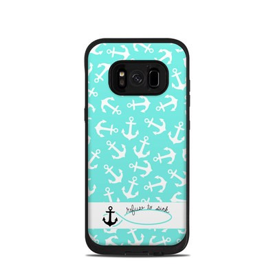 Lifeproof Galaxy S8 Fre Case Skin - Refuse to Sink