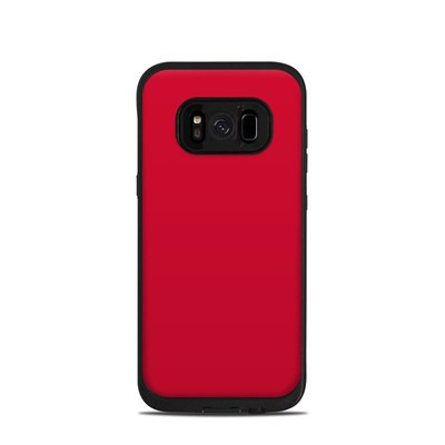Lifeproof Galaxy S8 Fre Case Skin - Solid State Red