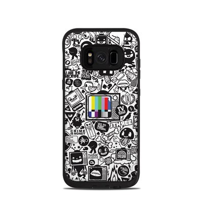 Lifeproof Galaxy S8 Fre Case Skin - TV Kills Everything