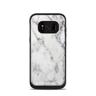 Lifeproof Galaxy S8 Fre Case Skin - White Marble
