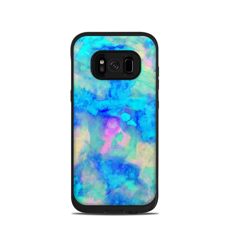 official photos 69879 891b7 Lifeproof Galaxy S8 Fre Case Skin - Electrify Ice Blue