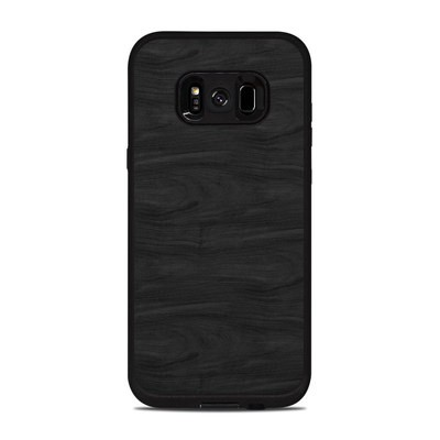 Lifeproof Galaxy S8 Plus Fre Case Skin - Black Woodgrain