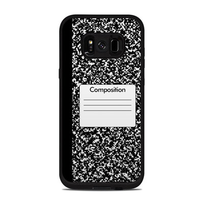Lifeproof Galaxy S8 Plus Fre Case Skin - Composition Notebook
