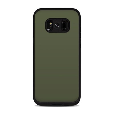 Lifeproof Galaxy S8 Plus Fre Case Skin - Solid State Olive Drab
