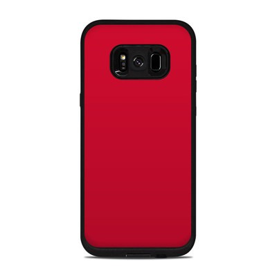 Lifeproof Galaxy S8 Plus Fre Case Skin - Solid State Red