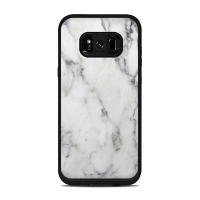 Lifeproof Galaxy S8 Plus Fre Case Skin - White Marble