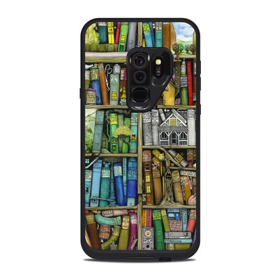 Lifeproof Galaxy S9 Plus Fre Case Skin - Bookshelf