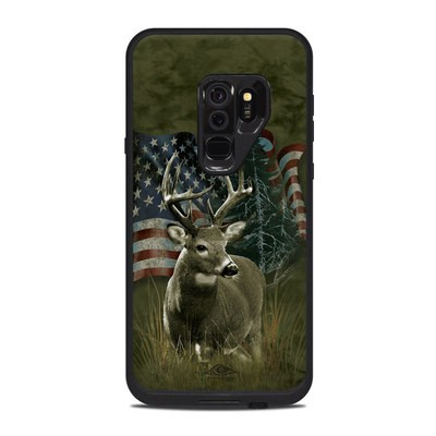 Lifeproof Galaxy S9 Plus Fre Case Skin - Deer Flag