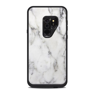 Lifeproof Galaxy S9 Plus Fre Case Skin - White Marble