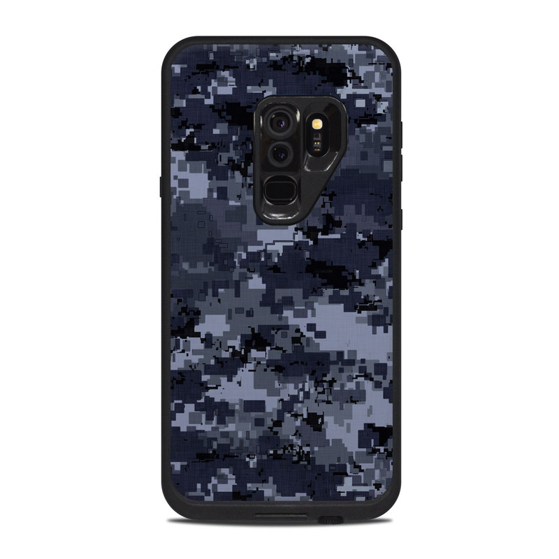 new arrival f0ccb e6bc9 Lifeproof Galaxy S9 Plus Fre Case Skin - Digital Navy Camo