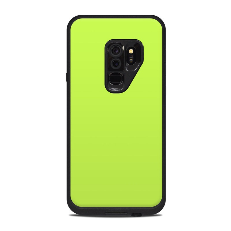 online store 6a8d2 c0565 Lifeproof Galaxy S9 Plus Fre Case Skin - Solid State Lime