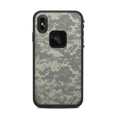 Lifeproof iPhone XS Max Fre Case Skin - ACU Camo