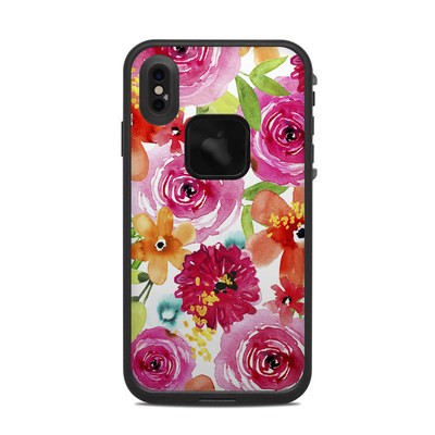 Lifeproof iPhone XS Max Fre Case Skin - Floral Pop