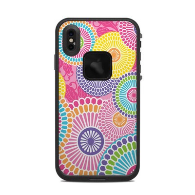 Lifeproof iPhone XS Max Fre Case Skin - Kyoto Springtime
