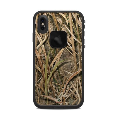 Lifeproof iPhone XS Max Fre Case Skin - Shadow Grass Blades